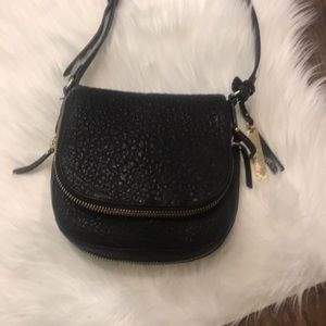Vince Camuto cross body leather prurse